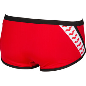 arena Team Stripe Short taille basse Homme, red/black